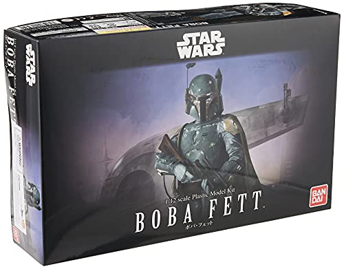 Star Wars Boba Fett 1/12 Scale Model Kit by Bandai