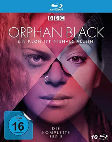 Orphan Black - Die komplette Serie - Alle 5 Staffeln - Alle 50 Episoden [Blu-ray]