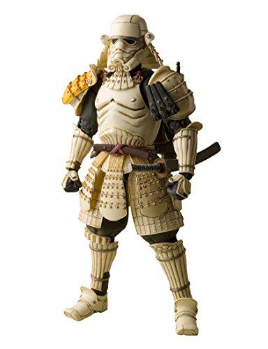 Bandai Tamashii Nations BTN92048-5 - Star Wars Meisho Movie Realization Teppo Ashigaru Sandtrooper Web Exclusive Actionfigur, 17 cm