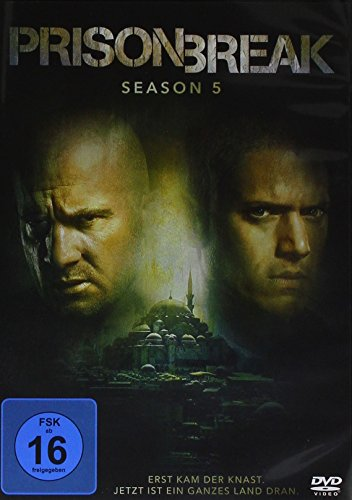 Prison Break - Die komplette Season 5 [3 DVDs]