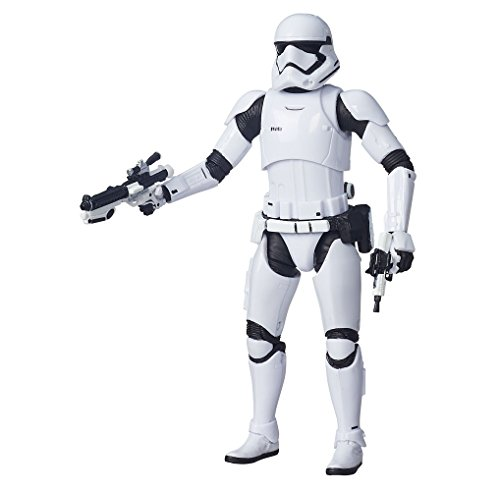 Disney Star Wars Episode VII Black Series Action Figure 2015 First Order Stormtrooper SDCC Exclusive 15cm Hasbro