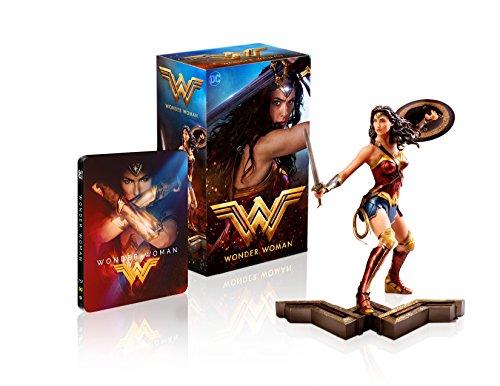 Wonder Woman Ultimate Collector's Edition (Steelbook + Wonder Woman Sammlerfigur) (exklusiv bei Amazon.de) [Blu-ray] [Limited Collector's Edition]