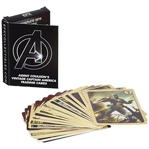 E.F.X. Sammelfiguren efx05120004Agent Coulson Cap Trading Karten Set