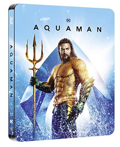 Aquaman 3D + 2D Steelbook (exklusiv bei amazon.de) [Blu-ray] [Limited Edition]