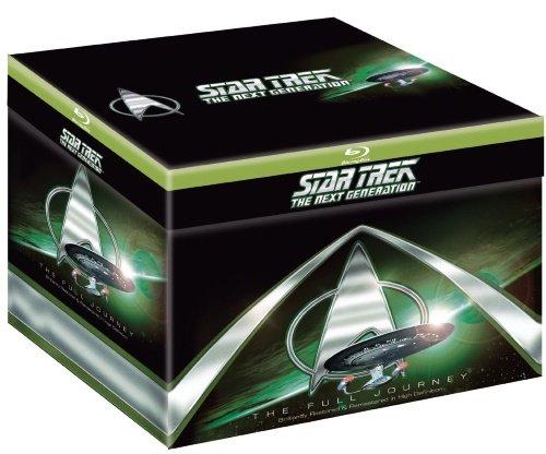Star Trek: The Next Generation (Full Journey) - 41-Disc Box Set ( Star Trek: TNG - Complete Series (176 Episodes) ) [ Blu-Ray, Reg.A/B/C Import - Sweden ]