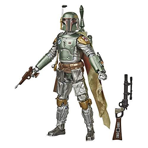 Star Wars E9927 Wars The Black Series Carbon-Kollektion Boba Fett 15 cm große Star Wars: Das Imperium schlägt zurück Action-Figur zum Sammeln