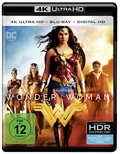 Wonder Woman (4K Ultra HD + 2D Blu-ray) [Blu-ray]