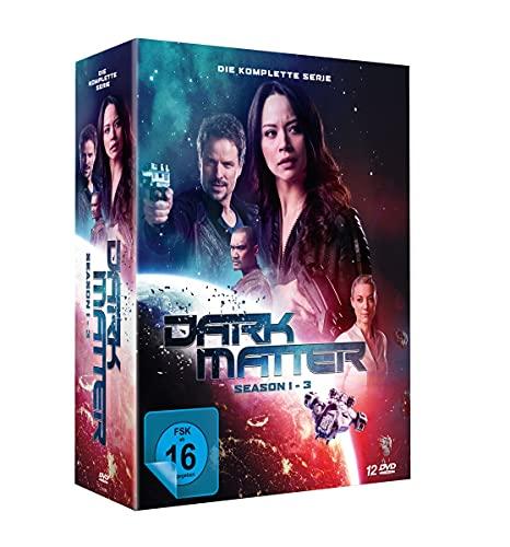 Dark Matter - Die Komplette Serie (Season 1-3) [12 DVDs]