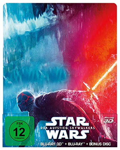 Star Wars: Der Aufstieg Skywalkers (Steelbook) [3D Blu-ray + 2D Blu-ray] [Limited Edition]