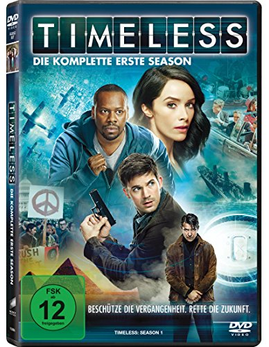 Timeless - Die komplette erste Season [4 DVDs]