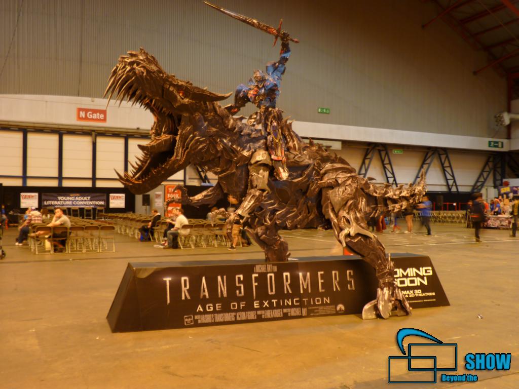 Transformers Pappaufsteller