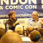 Edward James Olmos und Jamie Bamber