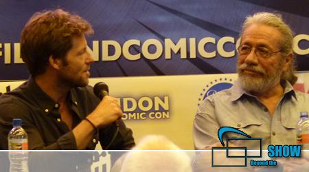 LFCC 2014 – BSG-Talk mit Jamie Bamber und Edward James Olmos