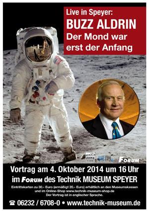 Buzz Aldrin Technikmuseum Speyer