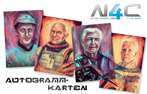 Noris Force Con exklusive Autogrammkarten