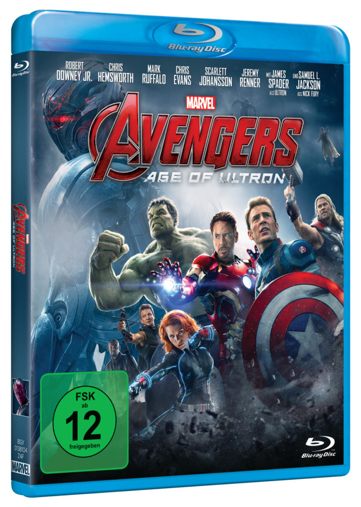 Avengers - Age of Ultron Blu-ray Cover