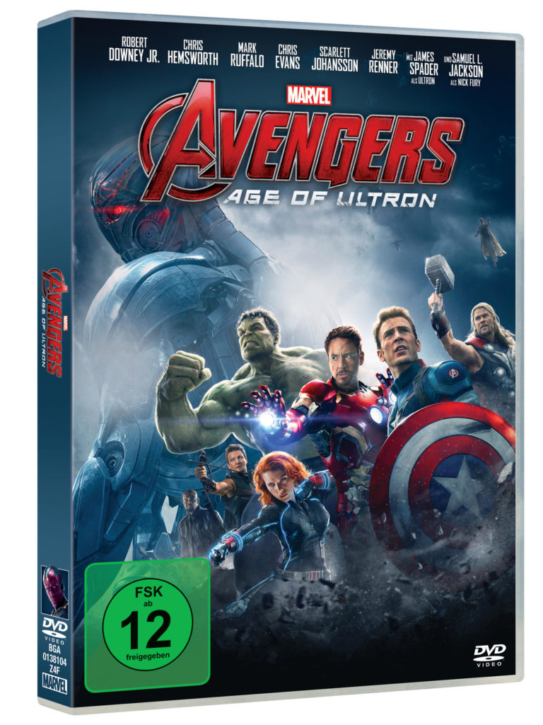 Avengers - Age of Ultron DVD Cover