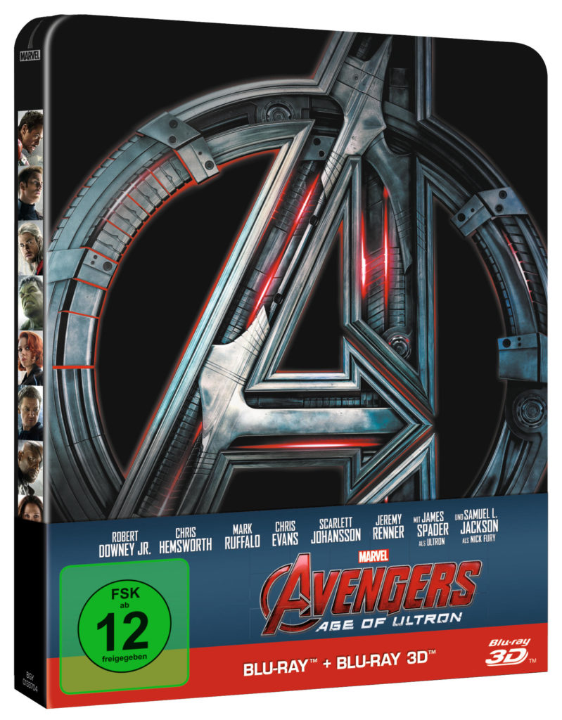Avengers - Age of Ultron Blu-ray Steelbook Cover