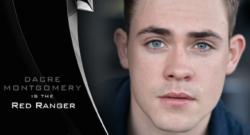 Dacre Montgomery - Jason - Red Power Ranger