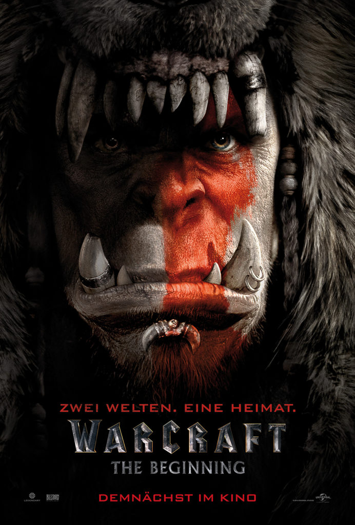 WARCRAFT Deutsches Poster