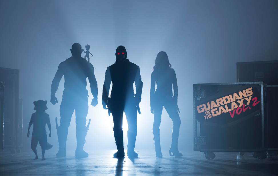 Guardians of the Galaxy Vol. 2 Drehstart Cast