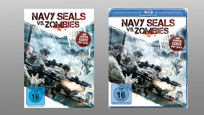 Navy SEALS vs. Zombies Teaser DVD Blu-ray