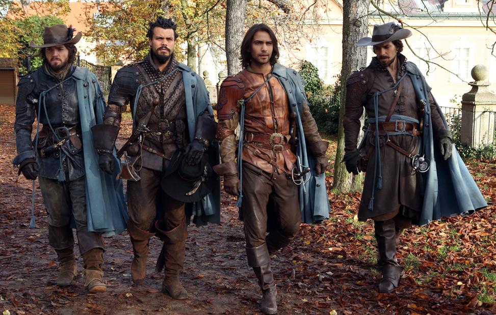 Die Musketiere Staffel 2 auf DVD und Blu-ray