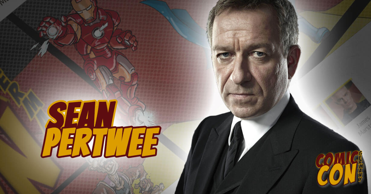 Sean Pertwee Gotham Comic Con Germany