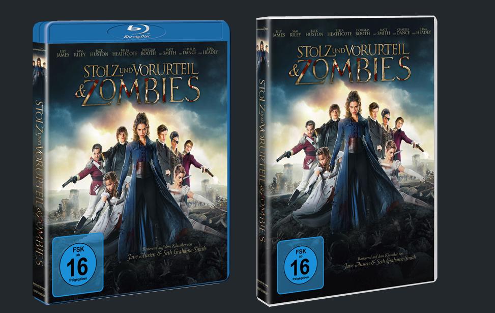 Stolz und Vorurteil und Zombies auf DVD und Blu-ray
