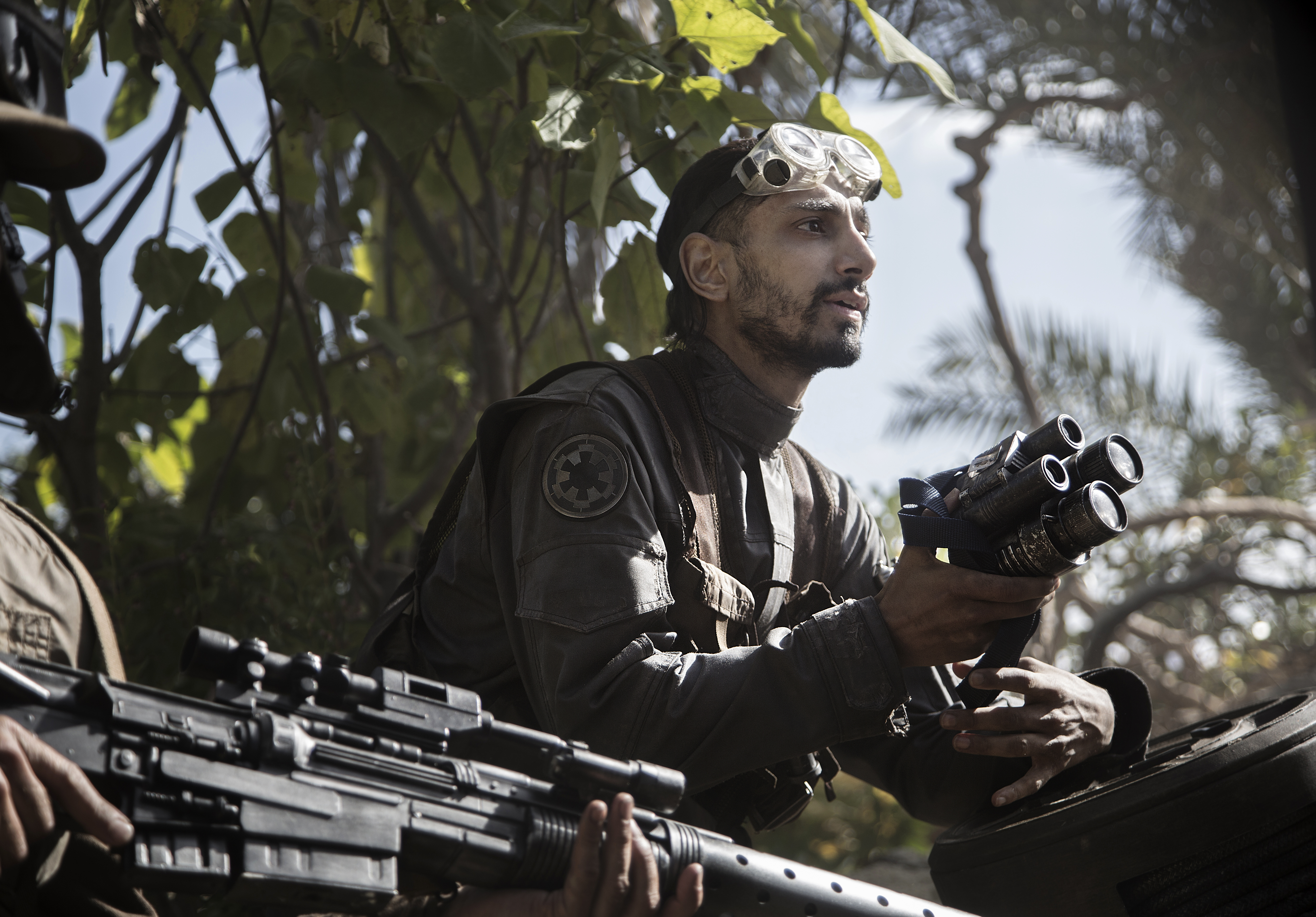 Riz Ahmed in Rogue One - A Star Wars Story