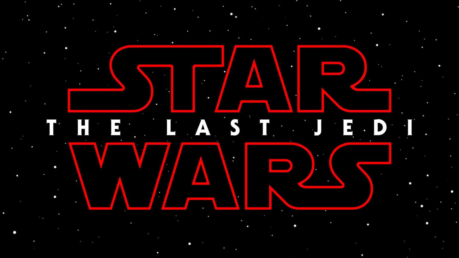 Star Wars The Last Jedi Logo
