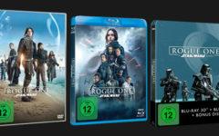Rogue One  – auf DVD, Blu-ray und im Steelbook