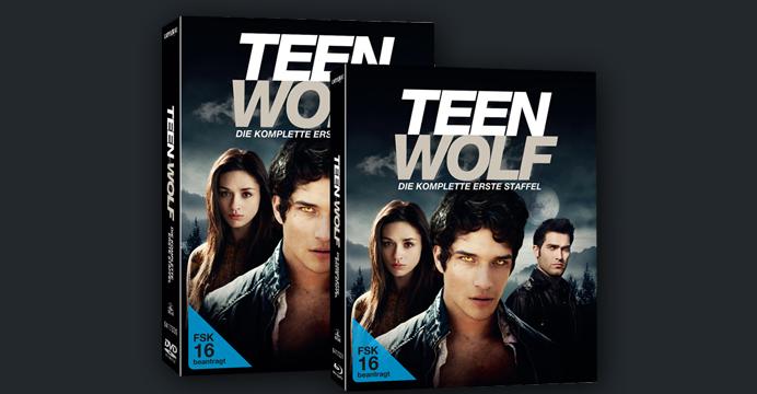 Teen Wolf - Staffel 1 auf DVD und Blu-ray