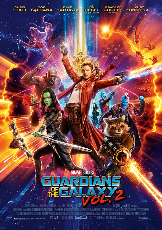 Guardians of the Galaxy Vol. 2 - Poster