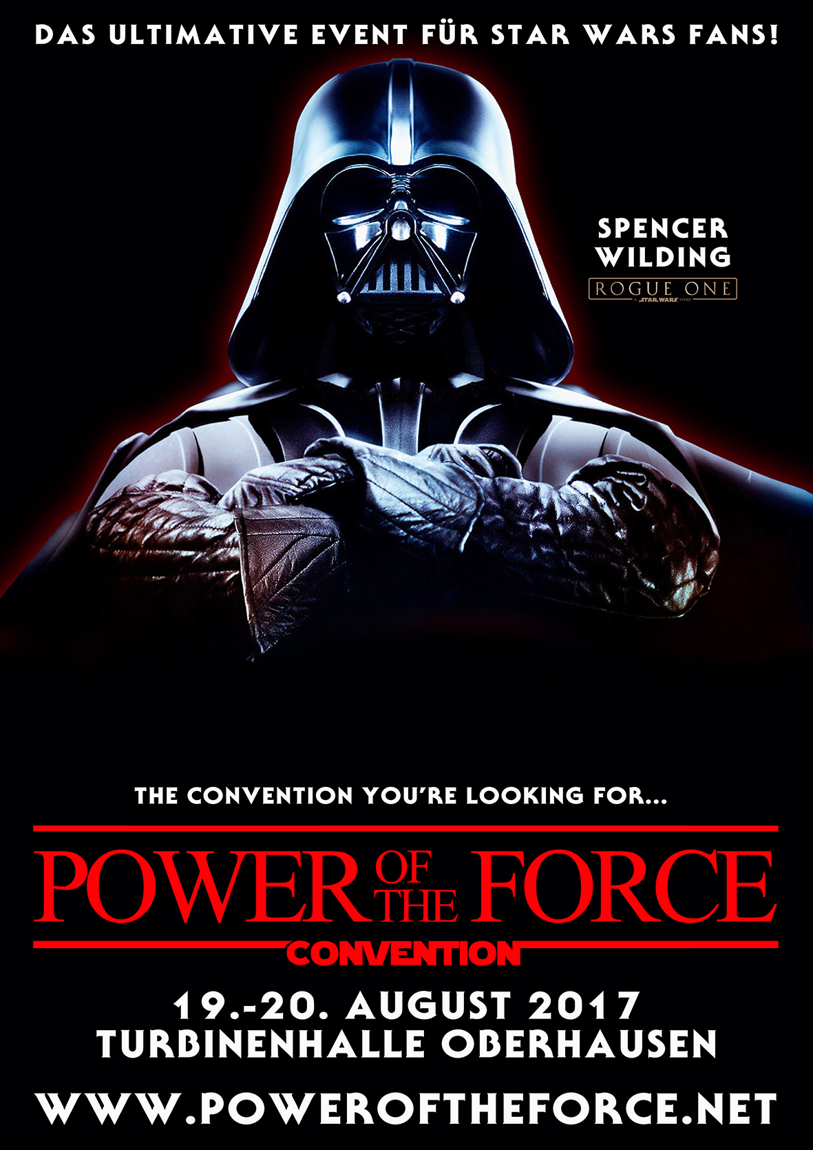 Flyer - Power of the Force Convention | Star Wars
