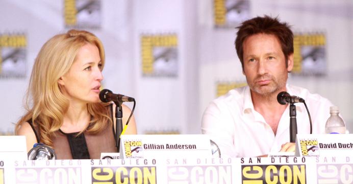 Gillian Anderson & David Duchovny | Akte X - Die unheimlichen Fälle des FBI | The X-Files