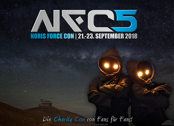 Grafik - Noris Force Con 5 | NFC 5 | Star Wars Convention