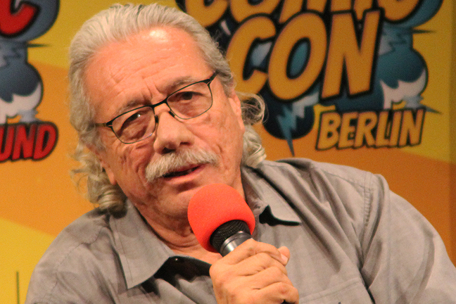 Edward James Olmos - Battlestar Galactica - News Teaser 1