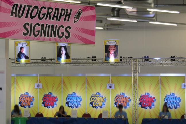 German Comic Con - Conventions - Events - Autogramme