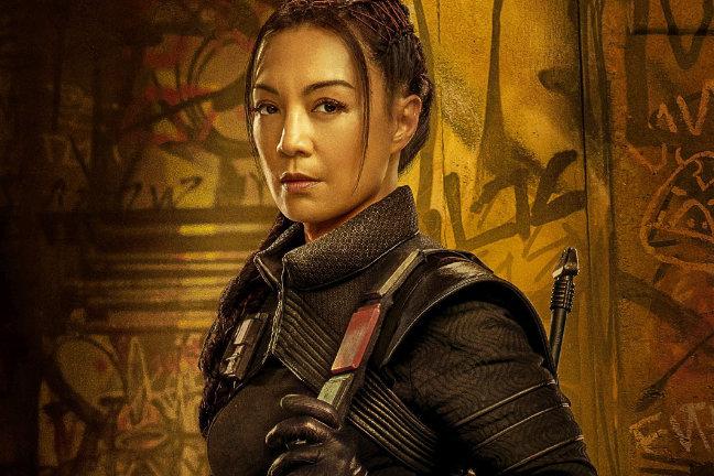 Ming-Na Wen als Fennec Shand in Star Wars - The Mandalorian