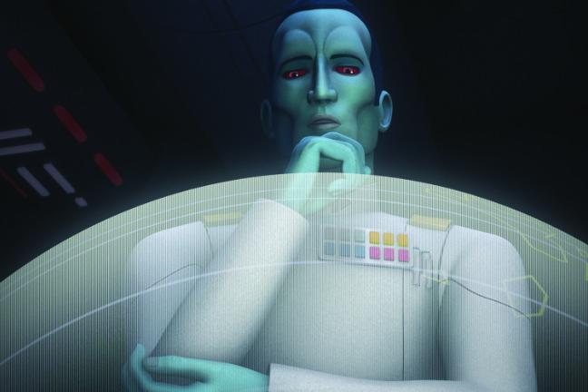 Großadmiral Thrawn - Star Wars - Rebels