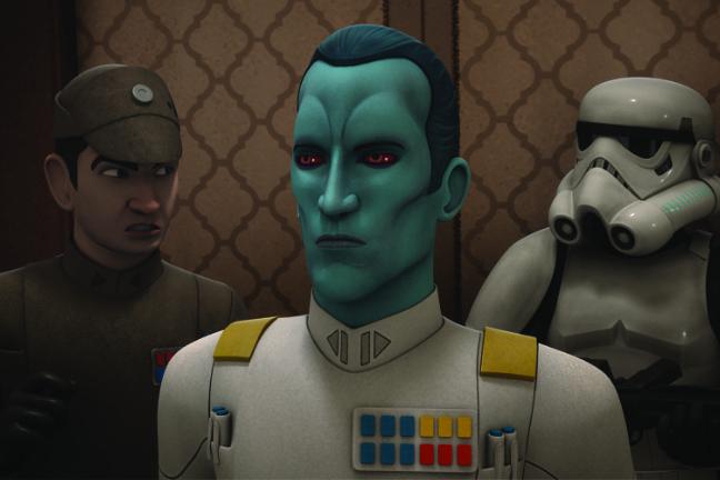 Star Wars - Rebels - Großadmiral Thrawn 2