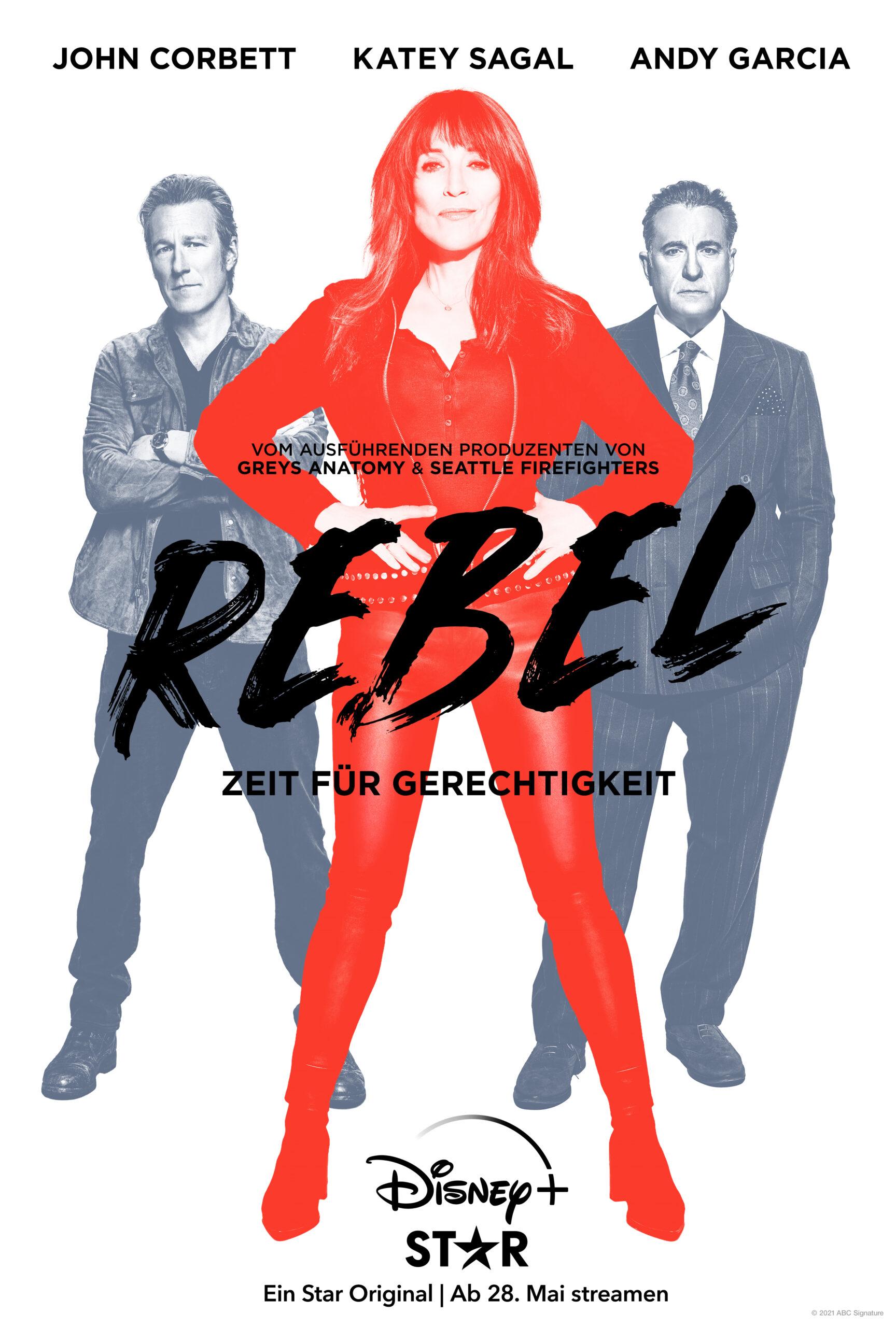 Rebel - Poster - Disney+ - Star