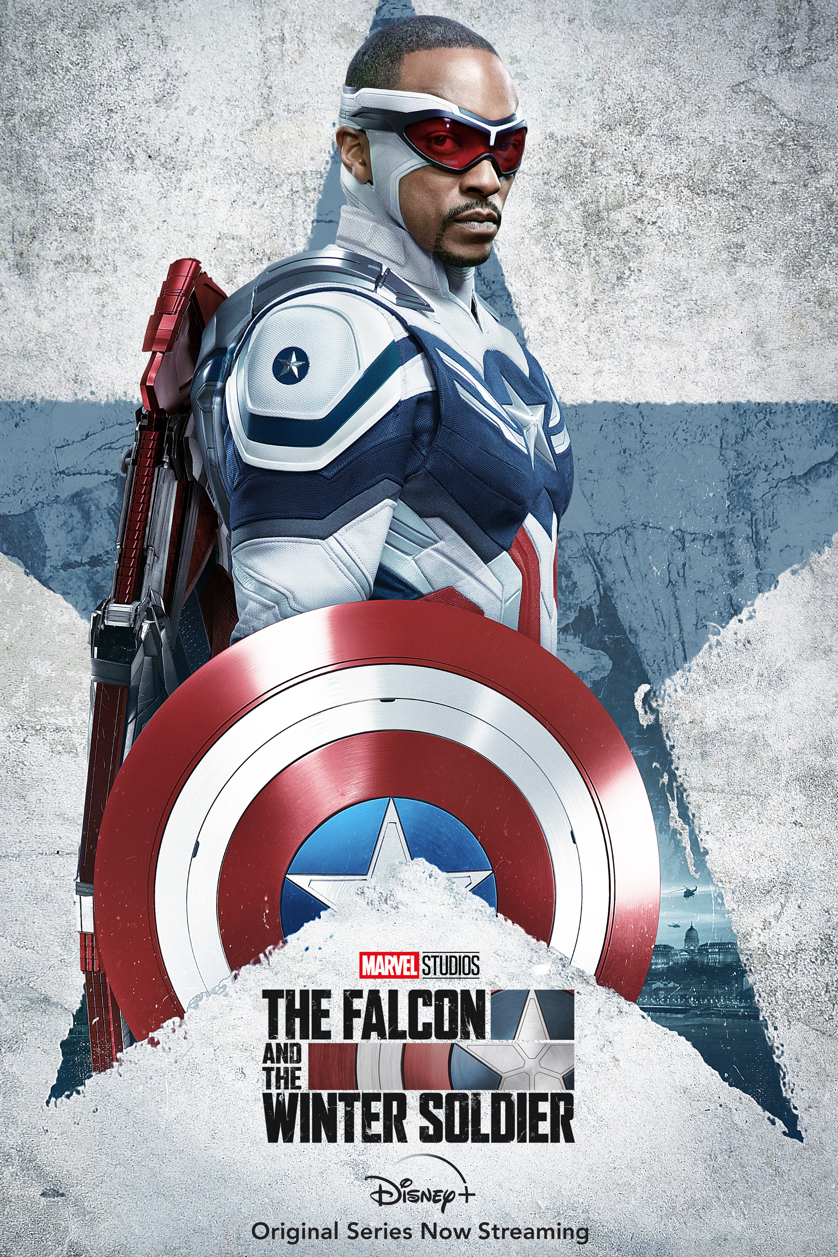 The Falcon and the Winter Soldier Anthony Mackie Poster Captain America 4