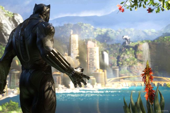 Christopher Judge - Black Panther - Marvels Avengers Game - Square Enix - Teaser