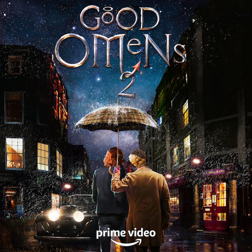 Good Omens Staffel 2 Key Art - David Tennant - Michael Sheen