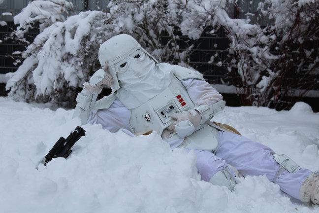 Wichtige Fragen zum Thema Cosplay - Snowtrooper - Star Wars - Kostüm