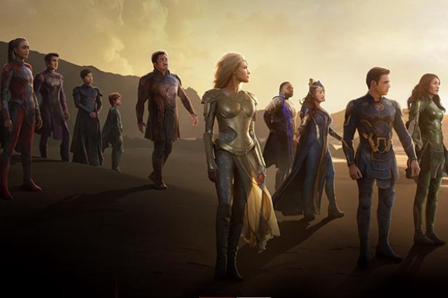 Marvels Eternals - Poster zum Trailer