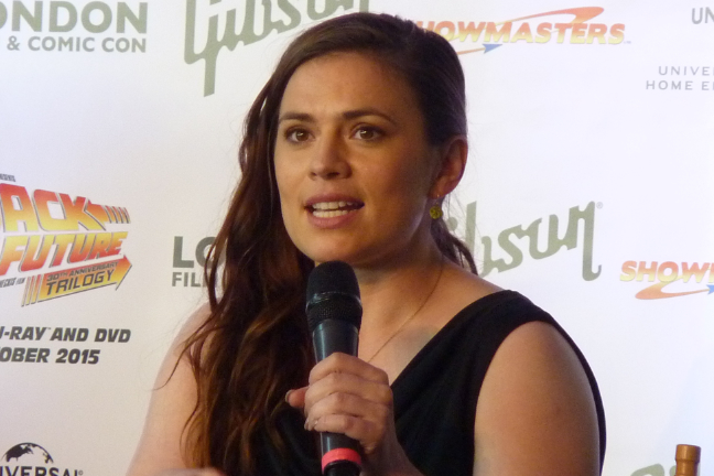 Hayley Atwell - Agent Carter - Marvel - London Film and Comic Con 2015 - Teaser