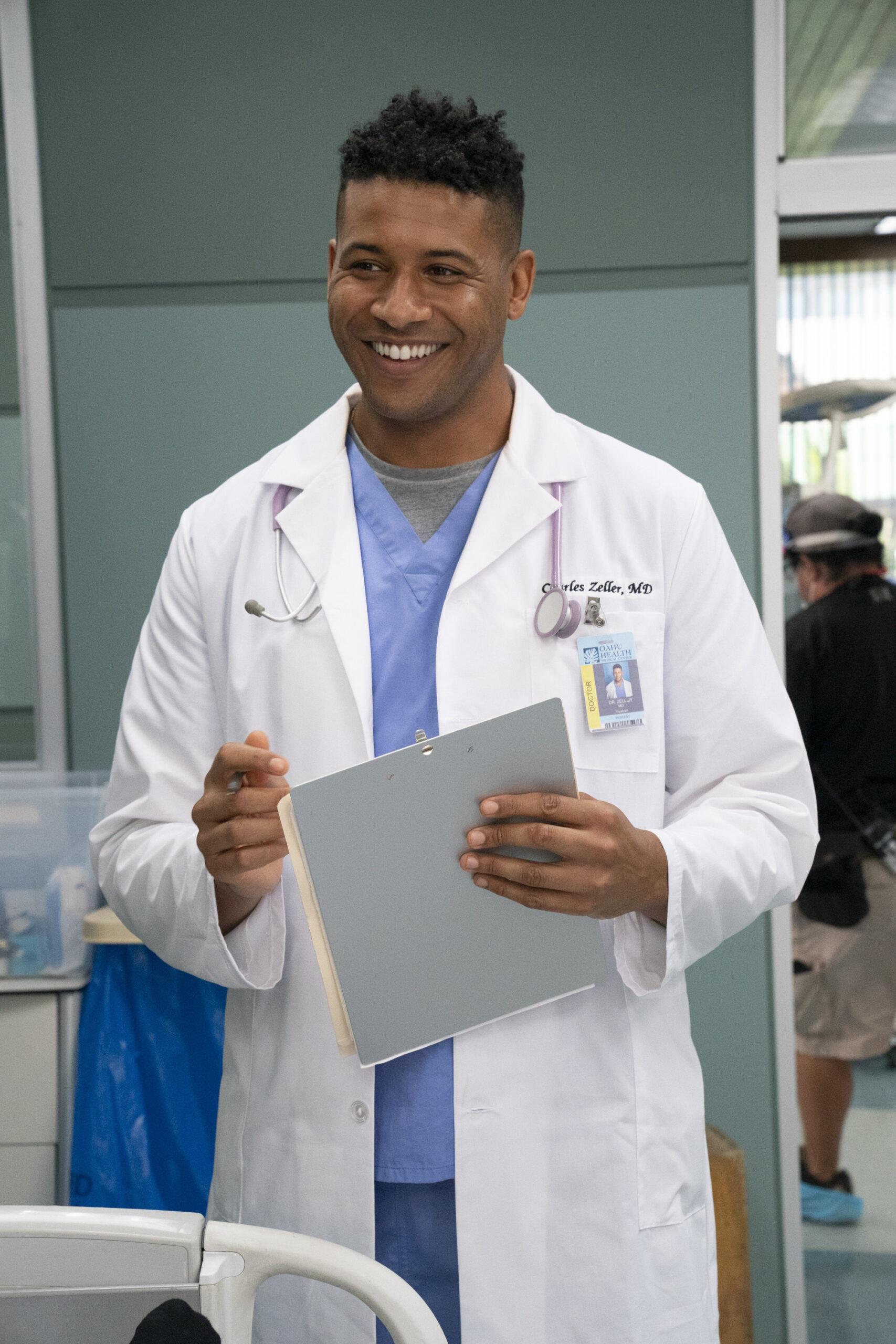 Jeffrey Bowyer-Chapman in der Disney+-Serie Doogie Kamealoha MD